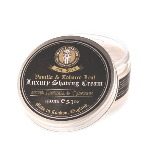 Image of Luxury Shaving Cream Vanilla & Tobacco Leaf 150ml / 5.3oz