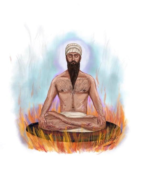 Image of Guru Arjan Dev Ji