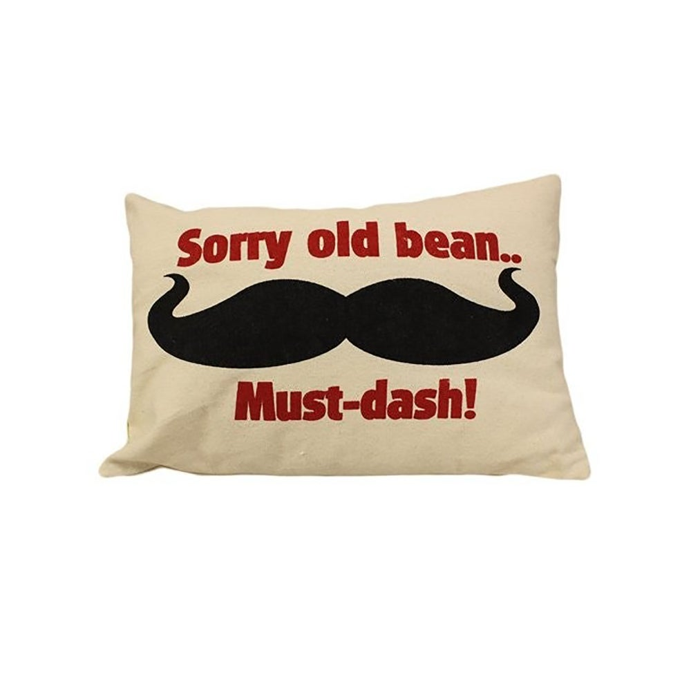 Image of Cushion Cover Sorry Old Bean...