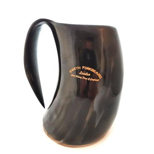 Image of Horn Mug with Handle Sweyn Forkbeard