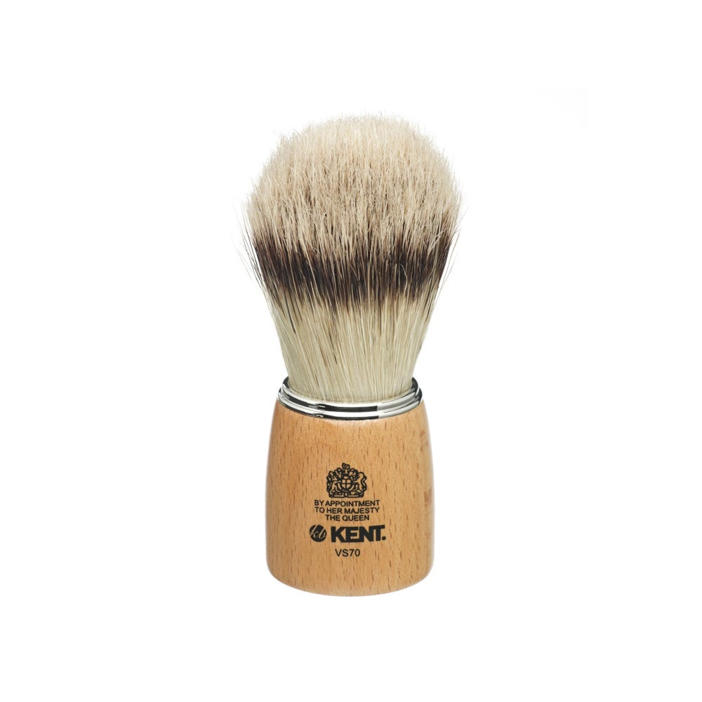Image of Shaving Brush Wooden Socket Pure Bristle