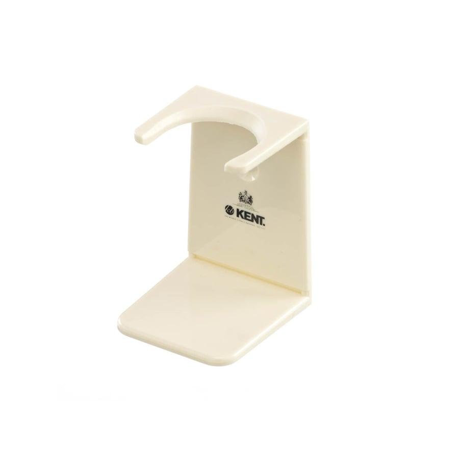 Image of Shaving Brush Stand White Ivory Big Neck