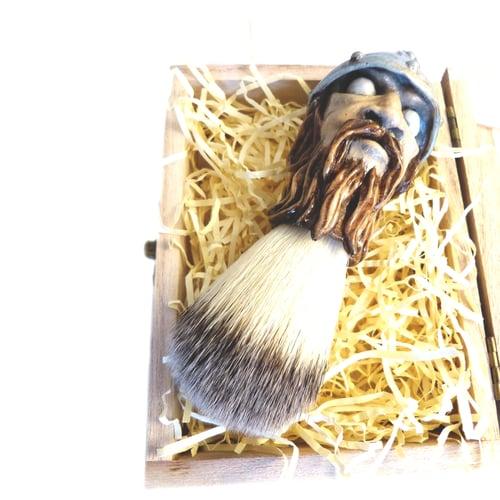 Image of Shaving Brush Sweyn Forkbeard 1st. Viking King of England (Limited Edition)