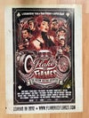 Flake & Flames Poster by The Dude Designs 40 x 30 cm, rar! Signed