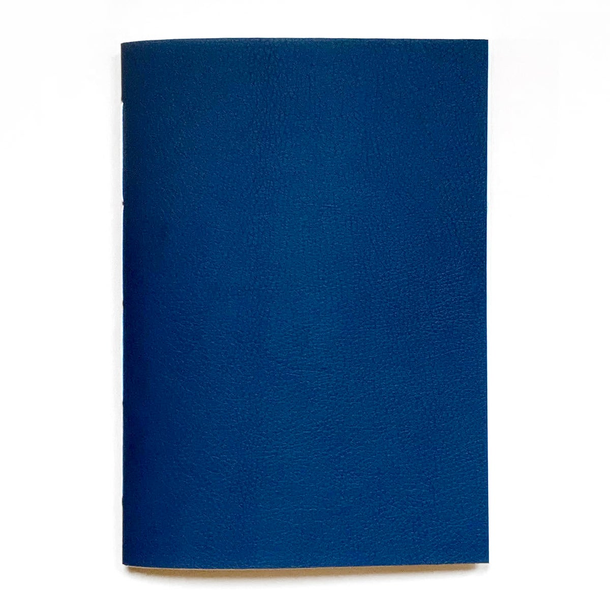 Image of vegan leather notebook – midnight blue