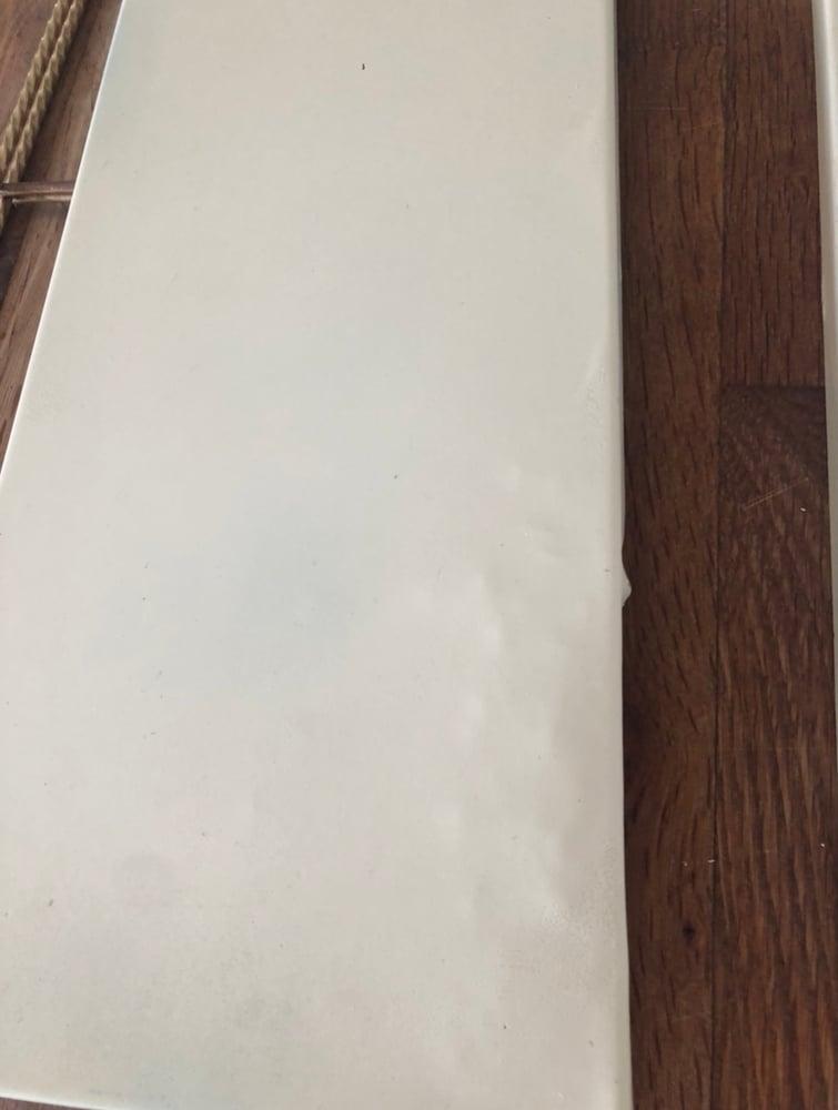 Image of Etagere métal blanc crème