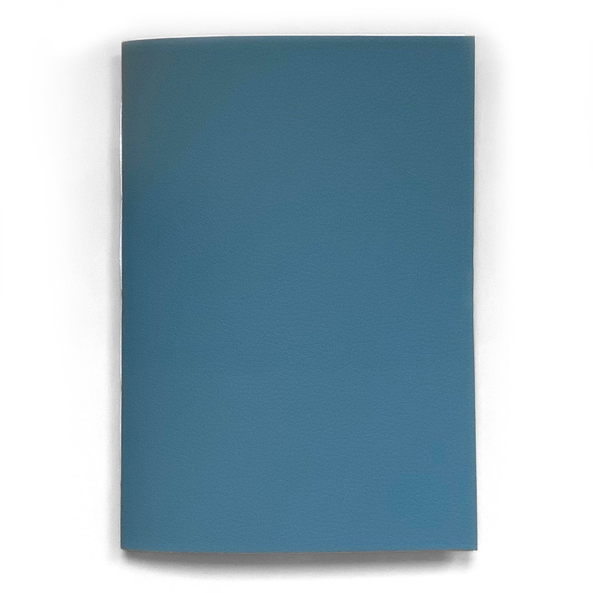 Image of vegan leather notebook – sky blue