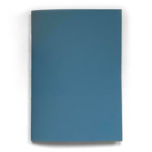 Image of vegan leather notebook – sky blue