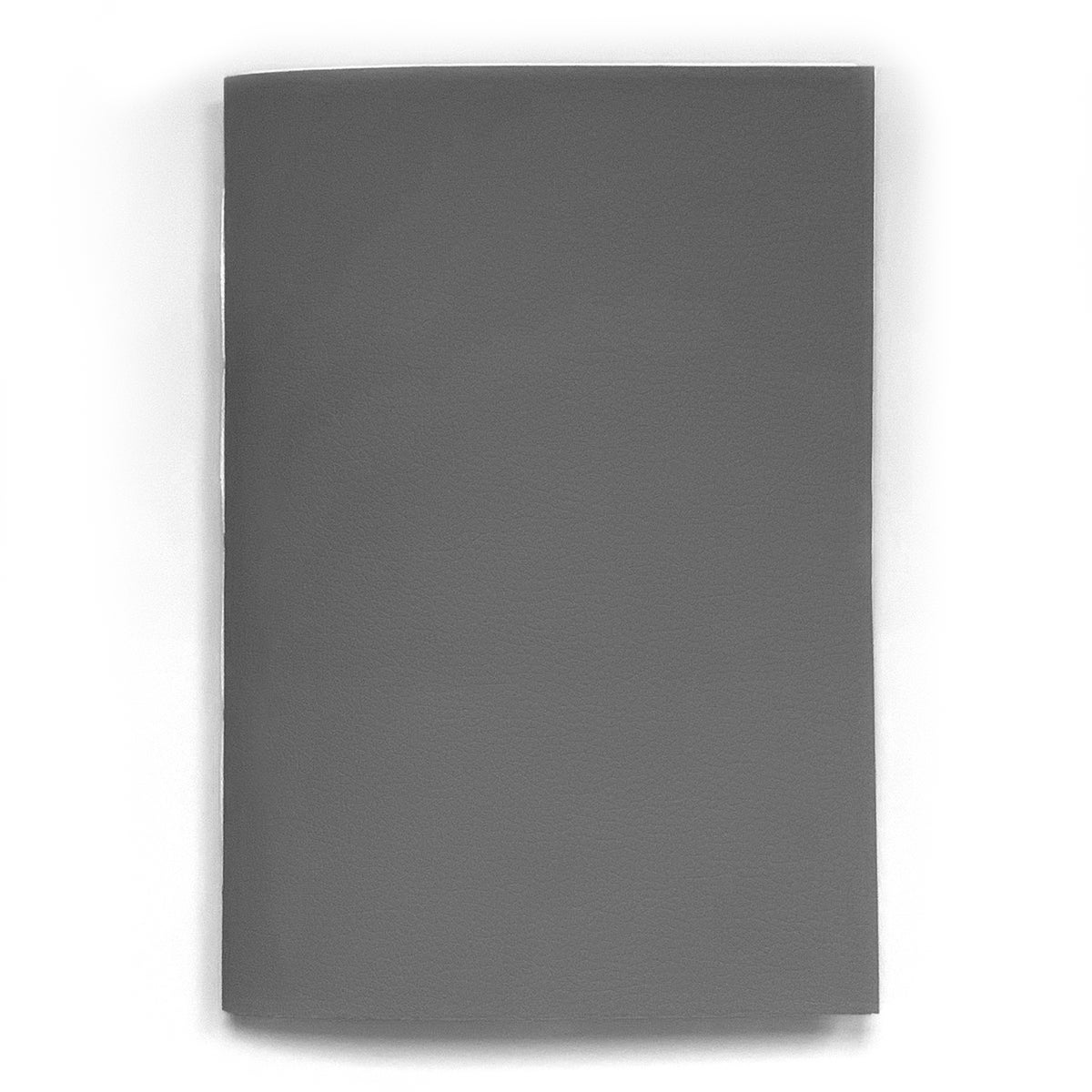 Image of vegan leather notebook – grey
