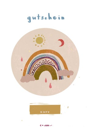 * GUTSCHEIN * gift cards