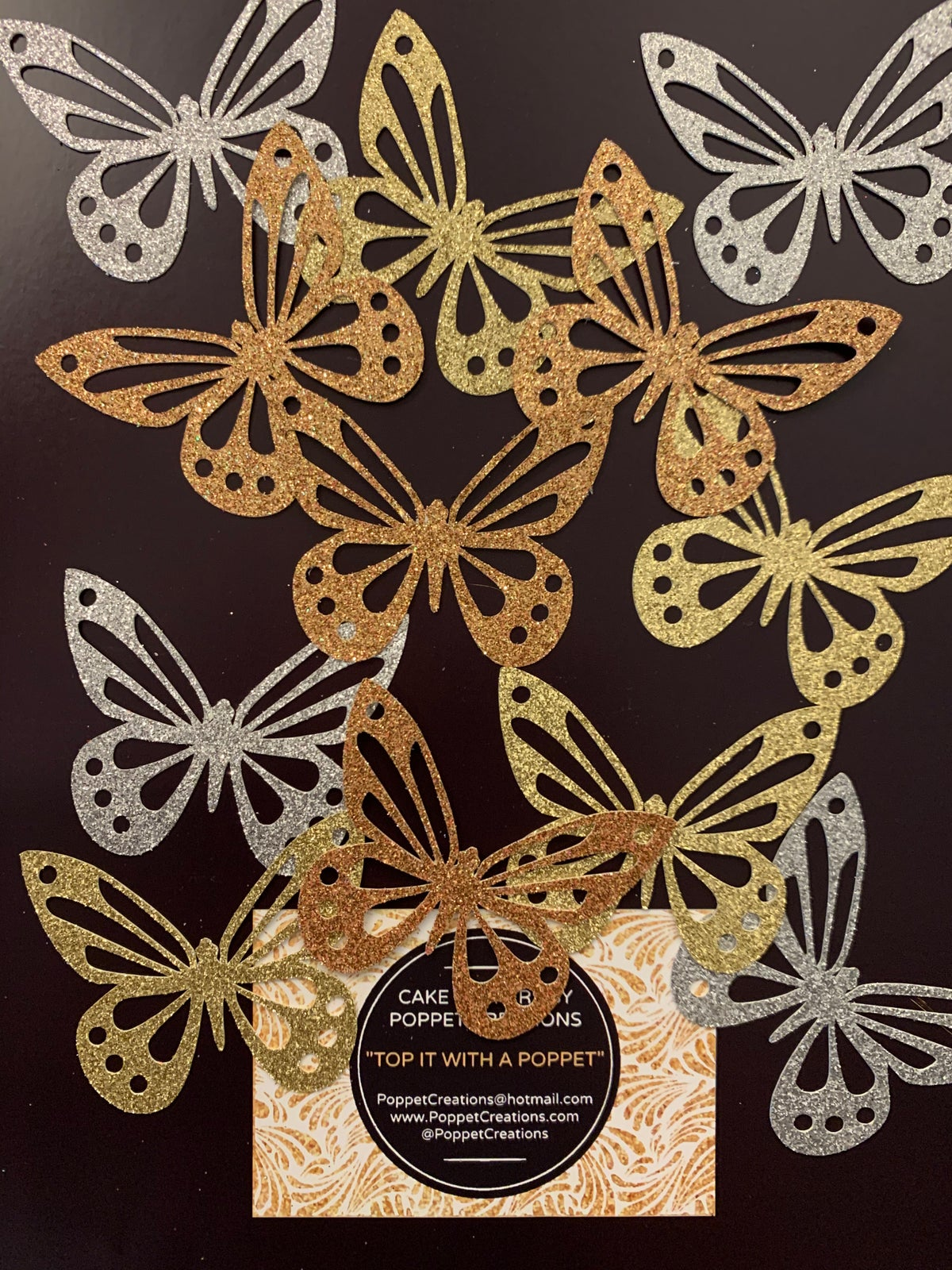 Image of Butterflies (pack of 6)