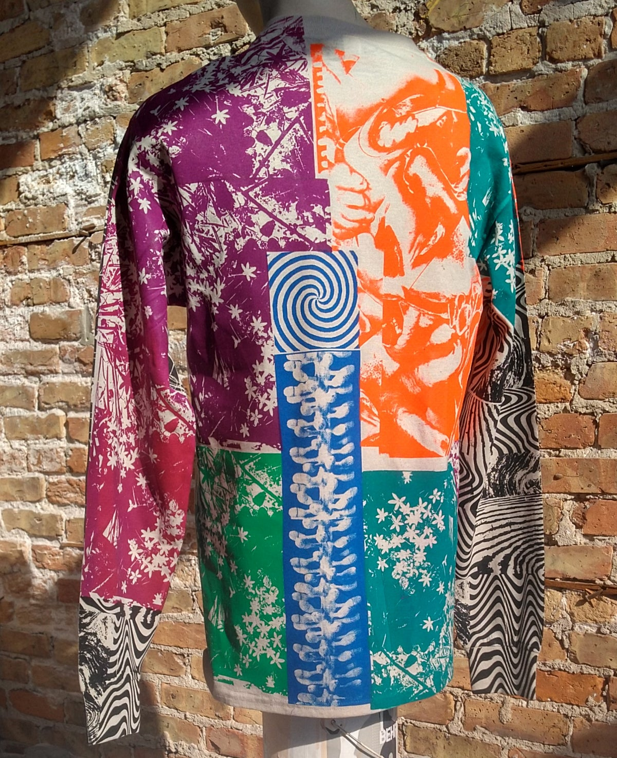 Image of Zebratic Collage Longsleeve [Medium]