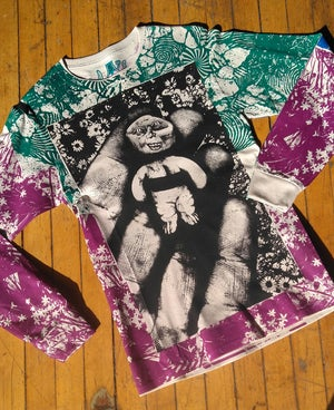 Image of Handheld Abomination Jewel Collage Longsleeve [SMALL]
