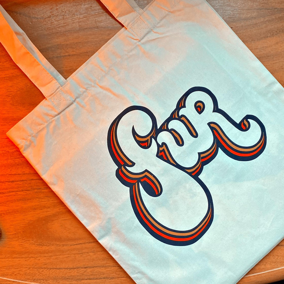 Image of 'FUR' Logo Tote Bag