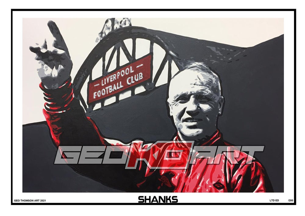 Image of BILL SHANKLEY LIVERPOOL FC