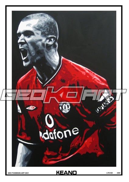Image of ROY KEANE MANCHESTER UNITED