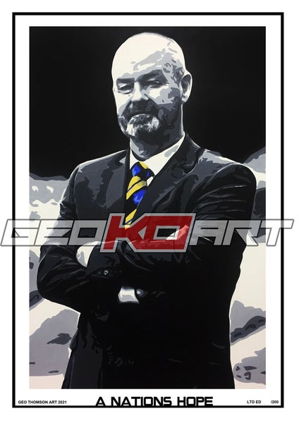 Image of STEVE CLARKE SCOTLAND MANAGER
