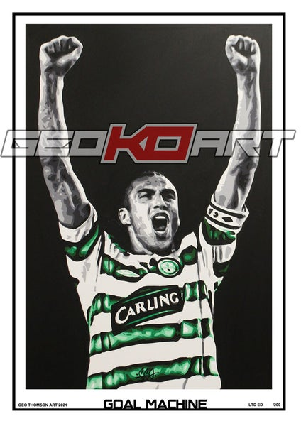 Image of HENRIK LARSSON CELTIC GOAL MACHINE