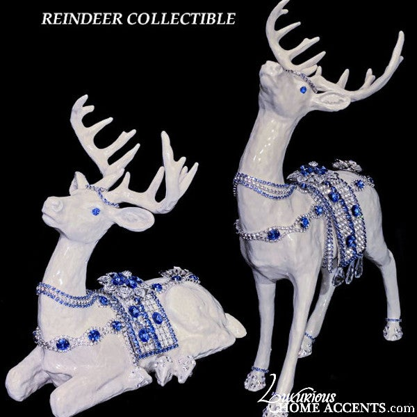 Image of Reindeer Figurine Collectible Statuettes