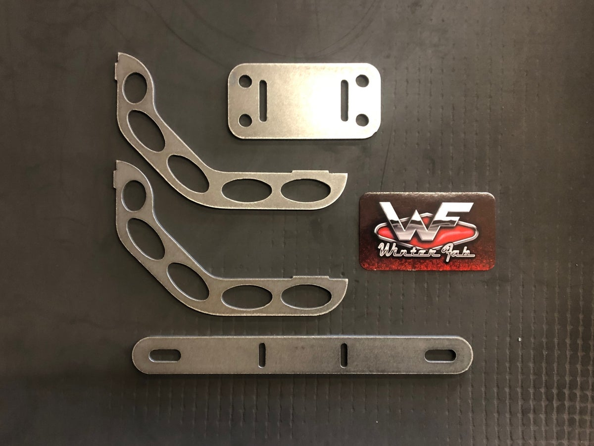Image of Under Rollpan Plate Mount - Tag Bracket