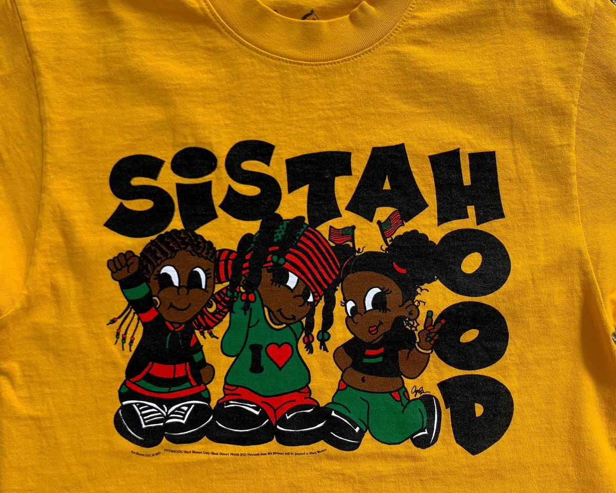SISTAHOOD T-SHIRT