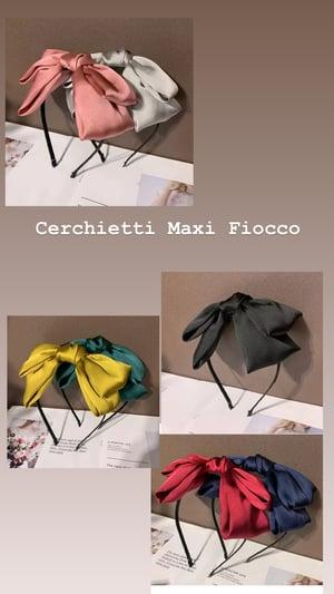 Image of Cerchietto Maxi Fiocco