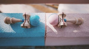 Image of Wai Chai Pro Model Pink & Blue