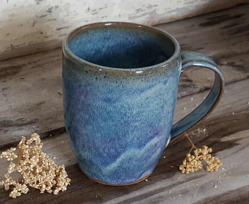 Image of By The Bucket Full Mug: Lupine (Periwinkle)