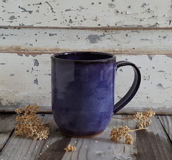 Image of By The Bucket Full Mug: Huckleberry (Purple)