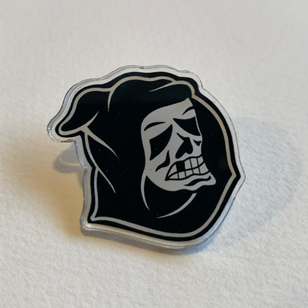 Image of ACRYLIC REAPER PIN