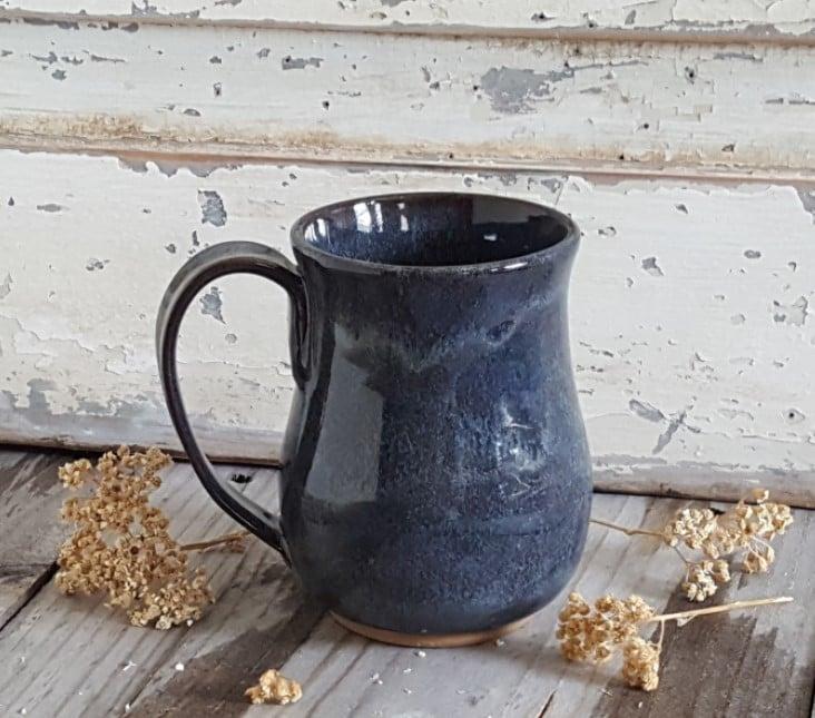 Image of Big Hug Mug: Night Sky (Dark Blue)