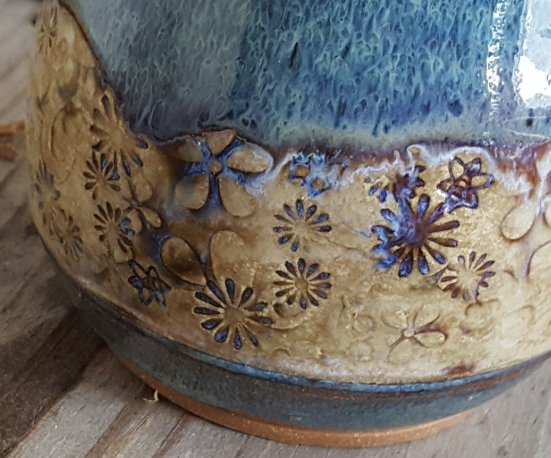 Image of Lupine & Wildflowers - Big Hug Mug: Lupine & Mountain Flower Honey
