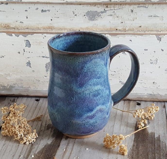 Image of Big Hug Mug: Lupine (Periwinkle)