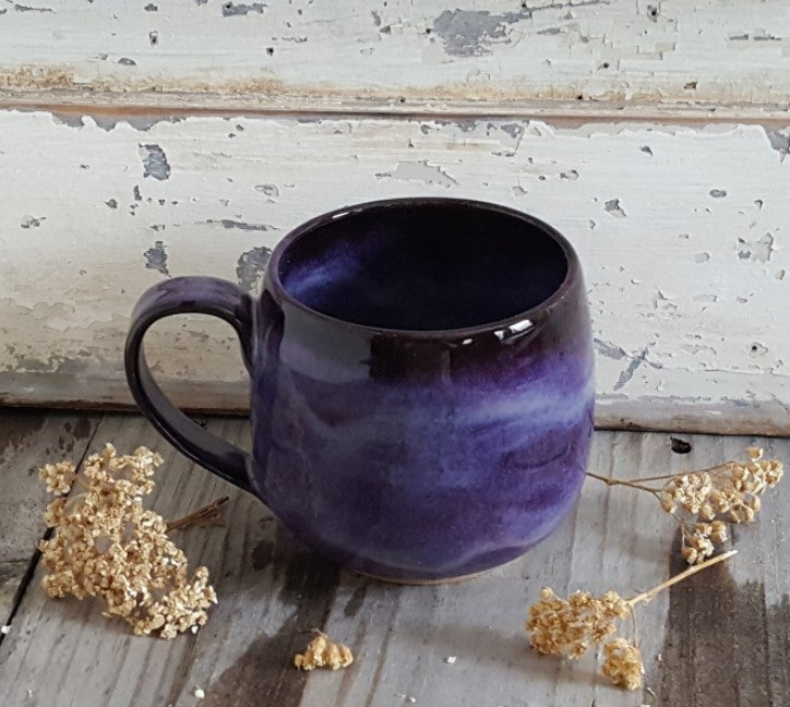 Image of Everyday Globe Mug: Huckleberry (Purple)