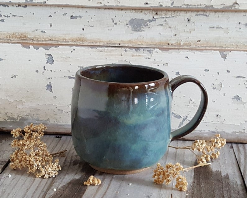 Image of Everyday Globe Mug: Avalanche Gorge (Green)