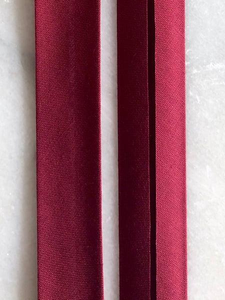 Image of Skråbånd - bordeaux (0021)