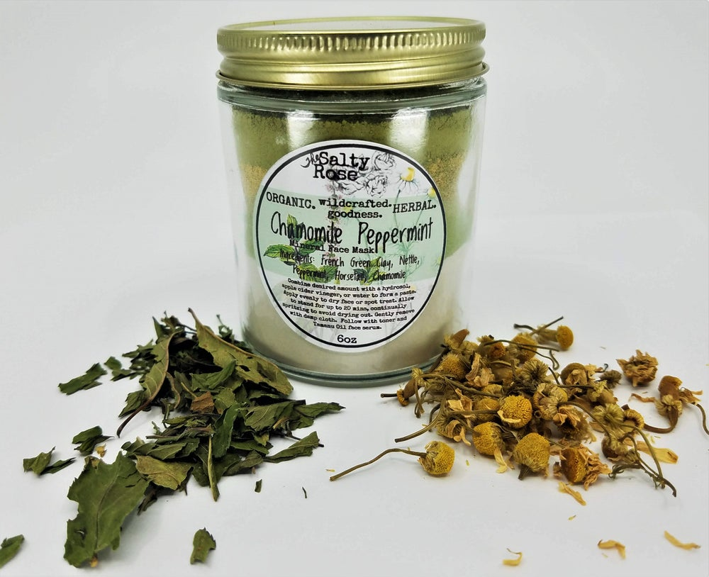 Image of Chamomile Peppermint invigorating mineral mask