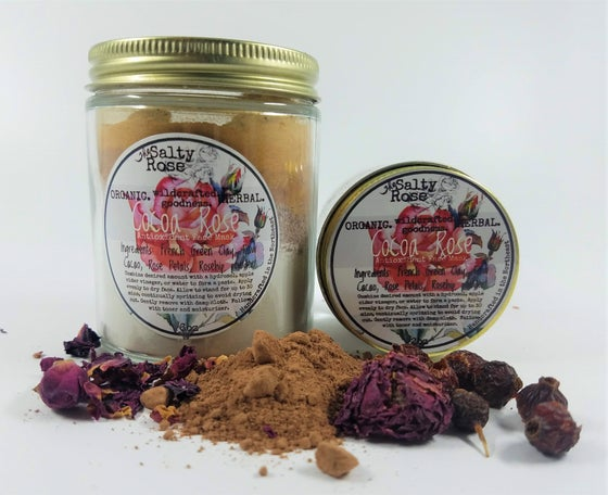 Image of Cocoa Rose antioxidant face mask