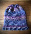 """""""Jimi"""" hand-knitted slouchy hat"""