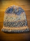 """Geneva Salt Water Taffy"" hand-knitted slouchy hat"