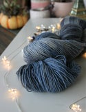 Paint + Rinse series - hand painted/dyed yarn - In the Midnight Hour