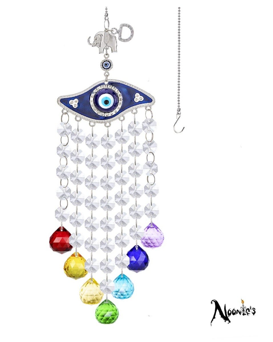 Image of Chakra Eye hanging sun catcher
