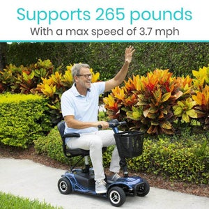Image of 4 Wheel Mobility Scooter   free shipping