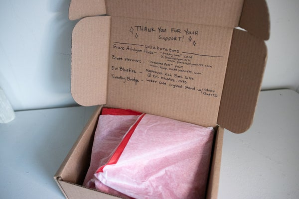 Image of heArt Box! Gift Box Collaboration Love Celebration Day edition <3
