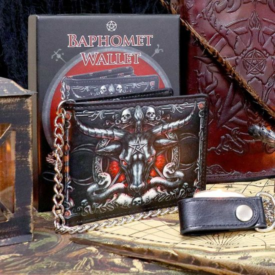 Baphomet Wallet with Chain