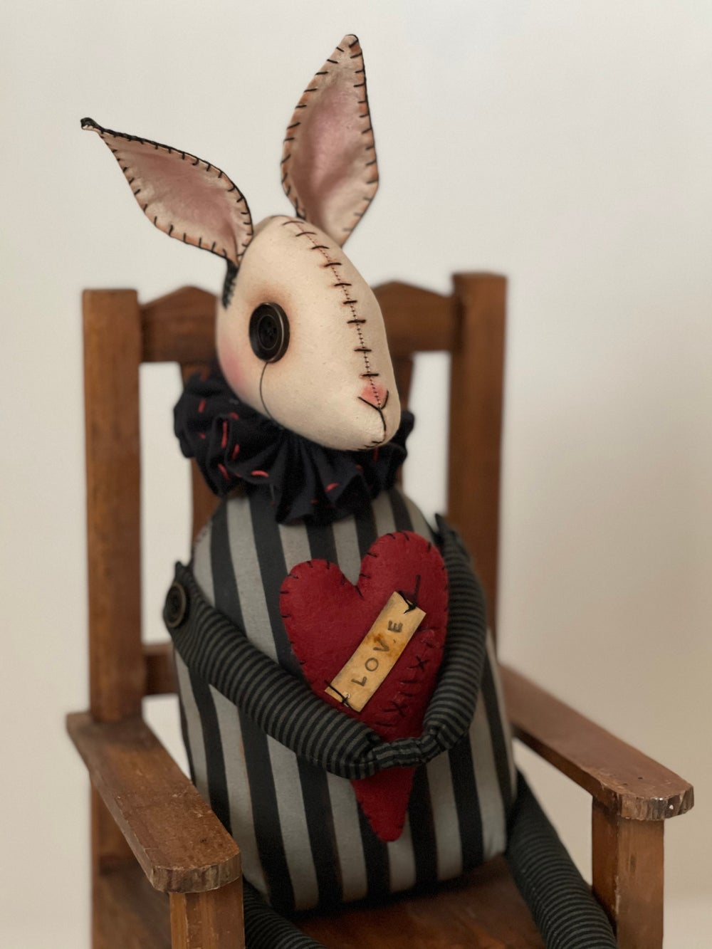Image of Primitive/ Gothic Bunny Posable