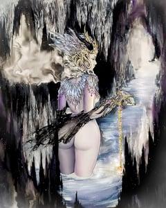 """Image of """"The High Priestess"""" Original Painting"""