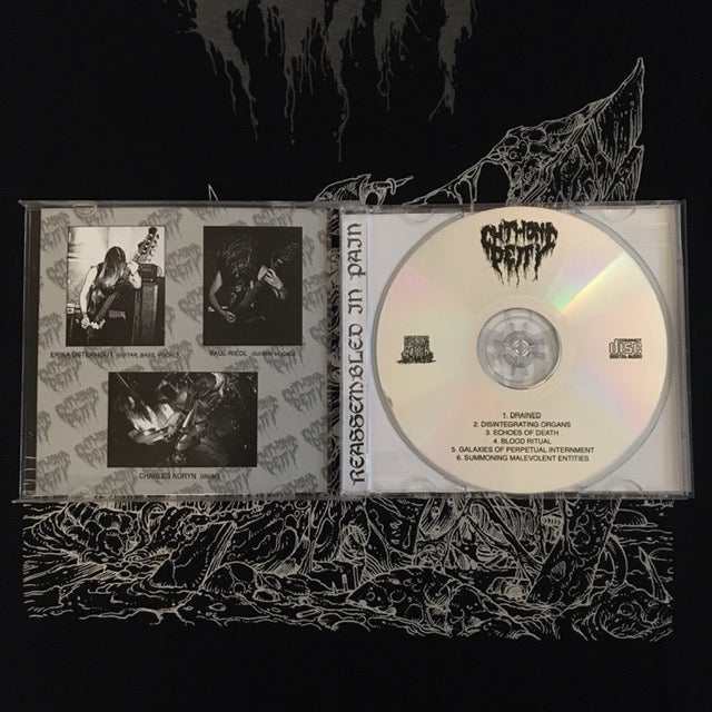 """Image of CHTHONIC DEITY """"Reassembled In Pain + 2"""" CD (Import)"""
