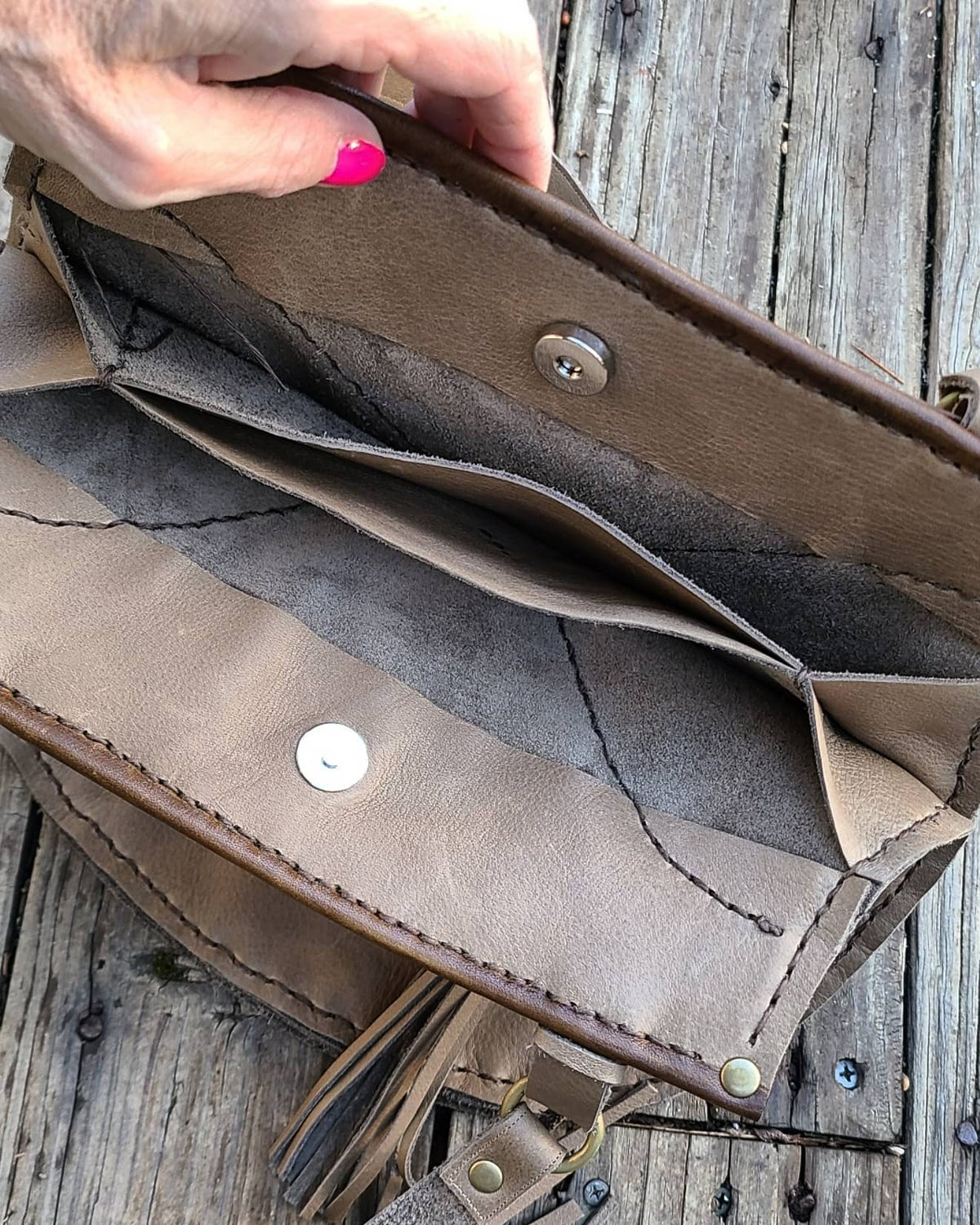 FOUR POCKET HOBO (made to order)