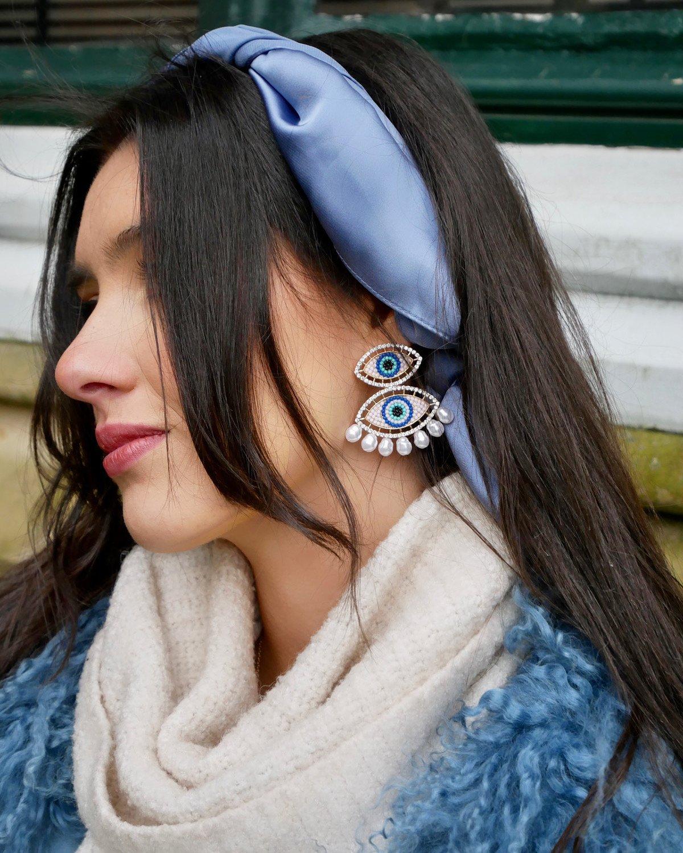 Iris Eye Earrings